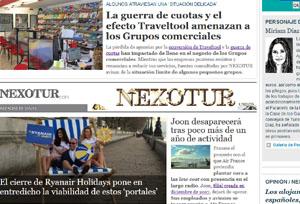 Nexotur.com obtiene en 2018 cifras récord de usuarios, visitas y páginas vistas