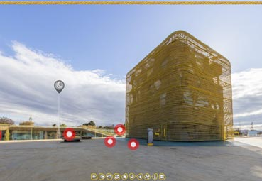 Crean visita virtual para el Palacio de Villanueva