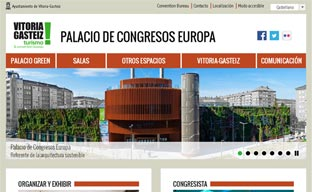 El Palacio de Congresos Europa estrena página 'web'