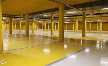 El parking del Palacio Europa abrirá en abril