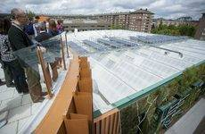 El Palacio Europa enseña sus espacios sostenibles