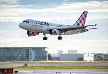Volotea opera el 'shuttle' entre dos sedes de Airbus