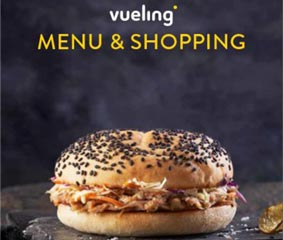 Vueling presenta su nueva propuesta de 'Menú y Shopping' a bordo
