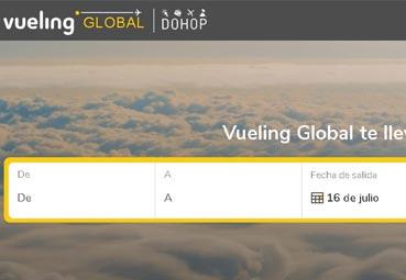 Nace Vueling Global, una plataforma de vuelos en conexión