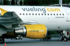 Vueling reduce la oferta de asientos este septiembre
