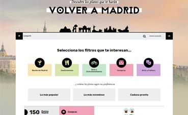El programa 'Vuelve a Madrid' supera los 1.000 usuarios