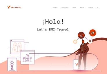 La agencia BMC Travel presenta su nueva página 'web'