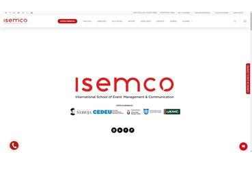 ISEMCO desarrolla su nueva página 'web' de un modo muy visual