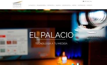 Nueva página 'web' del Palacio de Valencia