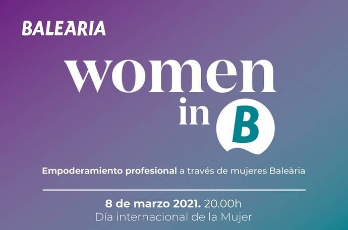 Baleària: mesa redonda para visibilizar a la mujer