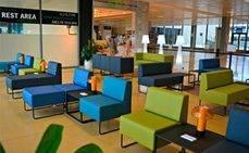 El Aeropuerto de Girona facilita el descanso y el trabajo