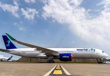 Newblue operará destinos de largo radio de World2Fly