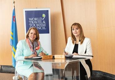 WTTC y Aruba se alían para mejorar la experiencia de viajes