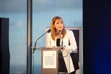 La presidenta del WTTC, Gloria Guevara.