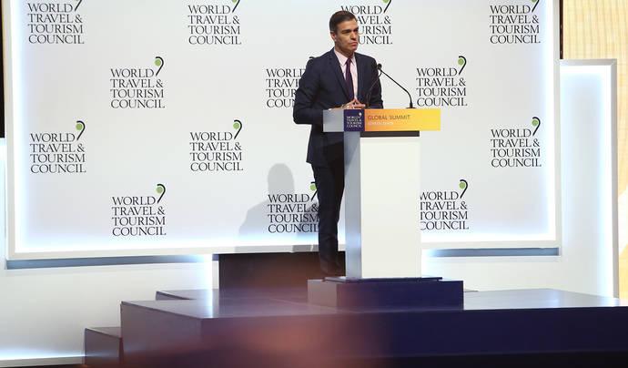 Pedro Sánchez niega que el destino España haya crecido 'por incertidumbres ajenas'