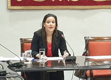 La consejera de Turismo, Industria y Comercio, Yaiza Castilla.