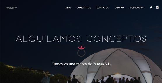 Yemso lanza una nueva 'web' de su división de eventos