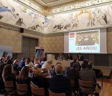 La asamblea se ha celebrado en el Museo Pablo Gargallo de Zaragoza.
