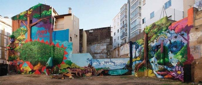 Festival Asalto. Arte urbano.