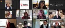 Zaragoza Congresos: reunión MICE europea en mesa redonda online