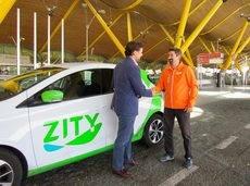 El servicio de Zity y Valeet en el aeropuerto.