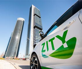 Zity supera los 100.000 usuarios en seis meses en Madrid