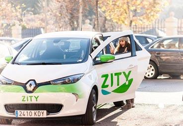 Zity amplía su servicio hacia el este y sureste de Madrid