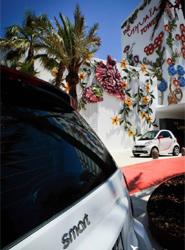 El nuevo modelo de Smart, de Mercedes-Benz, reafirma el compromiso de Ushuaïa Ibiza Beach Hotel con la isla