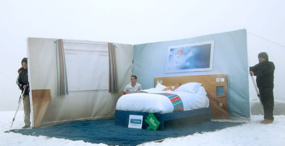Travelodge construye la habitación de hotel en el punto más alto de Gran Bretaña: la cima de la montaña Ben Nevis