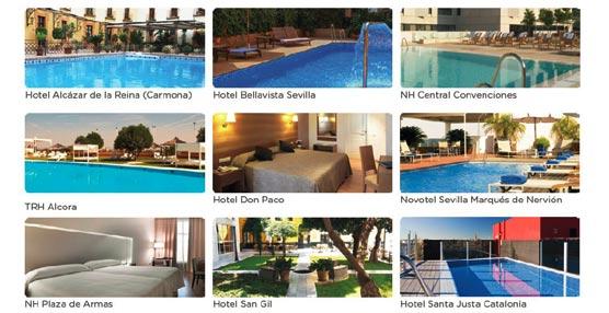 Los hoteles de sevilla abren sus piscinas a los ciudadanos for Hoteles baratos en sevilla con piscina