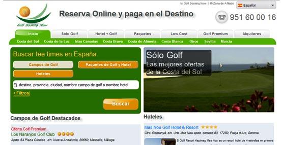 Golf Booking Now cumple su 1° año y se consolida en el turismo de golf con su propuesta de reserva conjunta