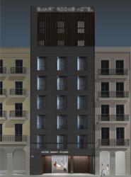 La cadena Smart Rooms gestionará un nuevo hotel en Barcelona, ubicado junto a la Plaza Urquinaona