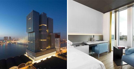 El hotel nhow Rotterdam, primer y único hotel del mundo diseñado por el reputado arquitecto holandés Rem Koolhaas