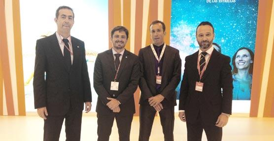 La patronal Ashotel mantiene una serie de reuniones de trabajo en Fitur en favor de la conectividad aérea