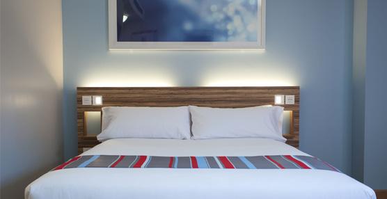 La cadena británica de hoteles económicos Travelodge impulsa en 2014 su nuevo concepto de habitación