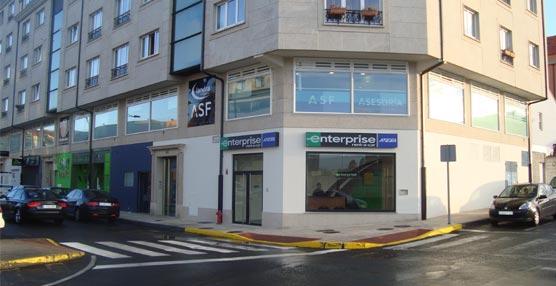 Enterprise Rent-A-Car traslada su oficina de Ferrol para mejorar el servicio a sus clientes