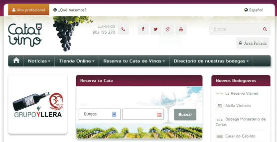 Una página 'web' permite localizar bodegas y reservar catas de vino en las 51 provincias españolas