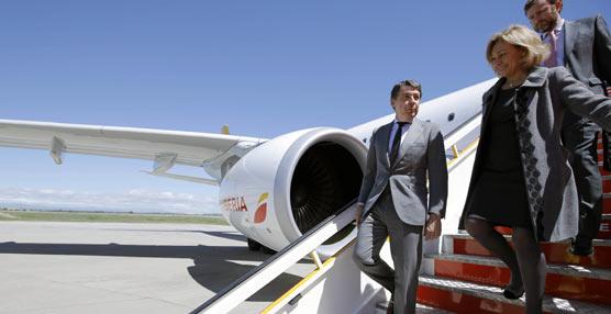 Iberia bautiza uno de los aviones con los que realiza conexiones de largo radio con el nombre de Madrid