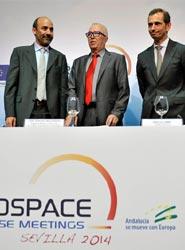 Fibes acoge durante estos días un encuentro del sector aeroespacial que reúne a más de 350 empresas de 28 países