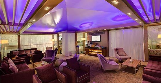 La nueva sala VIP de Saudia Airlines en el aeropuerto King Khalid INTL de Riyadh.