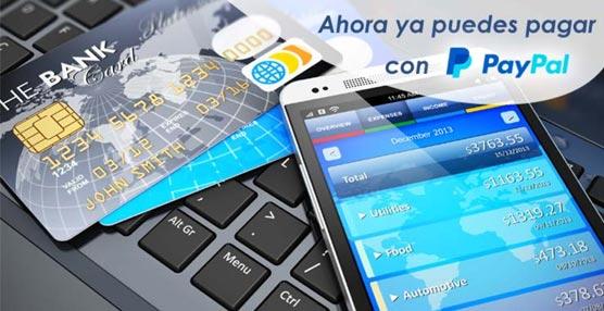 Renfe incorpora el sistema de pago PayPal a su canal de venta 'online' y en breve lo hará para su 'app' móvil