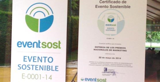 Los Premios de Marketing de España son el primer evento certificado sostenible de España bajo la marca Evensost