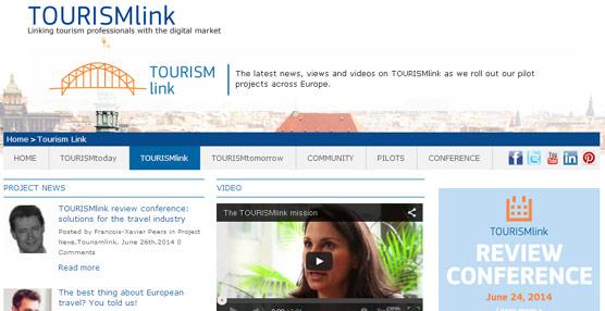 Tourismlink, plataforma de distribución B2B de alcance europeo, comienza su fase de lanzamiento tras dos años de desarrollo
