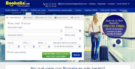 Bookelia.com intentará abrirse paso 'garantizando al cliente total transparencia en el proceso de compra'