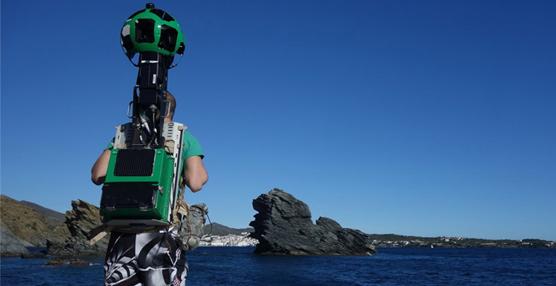 Los rincones más inéditos de la costa catalana ya están en Google Street View gracias a la tecnología Trekker