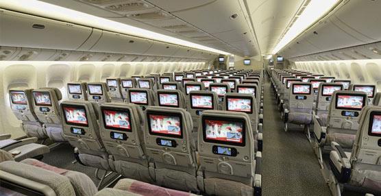 La aerolínea Emirates ofrece entretenimiento a bordo adaptado para personas con visión reducida