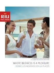Riu Hotels & Resorts selecciona en un nuevo catálogo sus hoteles especializados en MICE en México, Centroamérica y Caribe