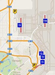 Los pasajeros de Iberia pueden reservar plaza en los aparcamientos de AENA a través de su página 'web'