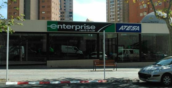 Enterprise rent a car contin a su expansi n en espa a for Oficinas enterprise