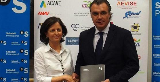 Sabadell Negocio Turístico ofrecerá condiciones especiales a las más de 3.000 agencias asociadas de CEAV